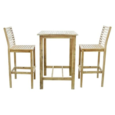Renaissance 3 Piece Bar Set