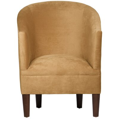 Eloise Velvet Arm Chair in Mystere Moccasin