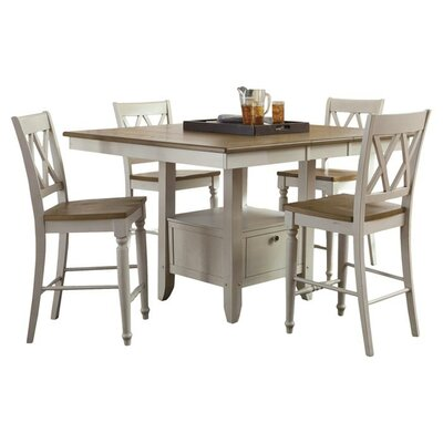 Diana 5 Piece Counter Height Dining Set