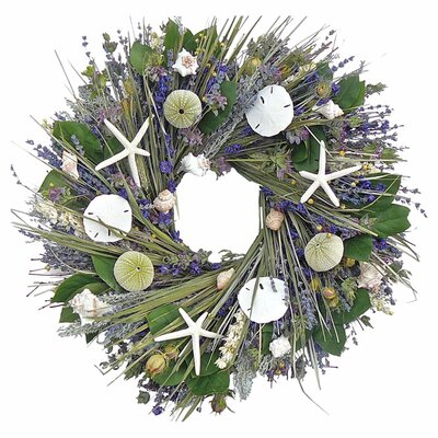 Preserved Ocean Garden 22 Wreath