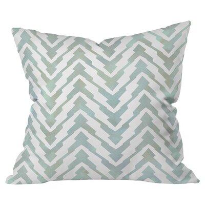 Pastel Zigzag Outdoor Throw Pillow