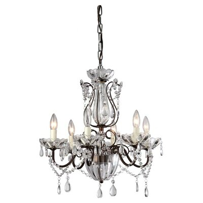 Medford 6-Light Candle-Style Chandelier