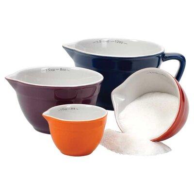 Gladys 4-Piece Ceramic Measuring Cup Set 79034