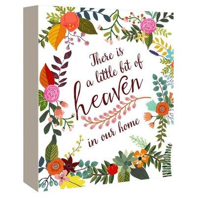 A Little Bit of Heaven Graphic Art on Canvas A129P015C1620