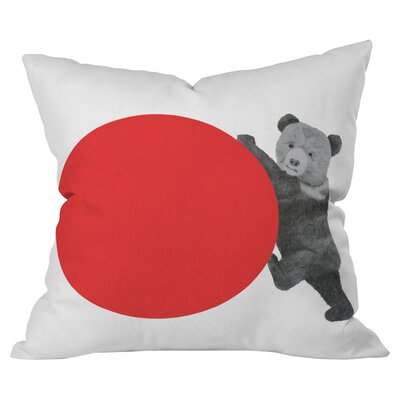 Bear Outdoor Throw Pillow