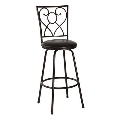 Bear River Adjustable Height Swivel Bar Stool
