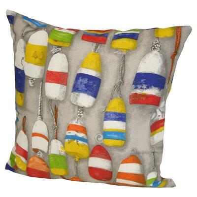 Buoys Throw Pillow