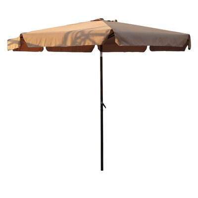 10 St. Kitts Drape Umbrella Fabric: Khaki