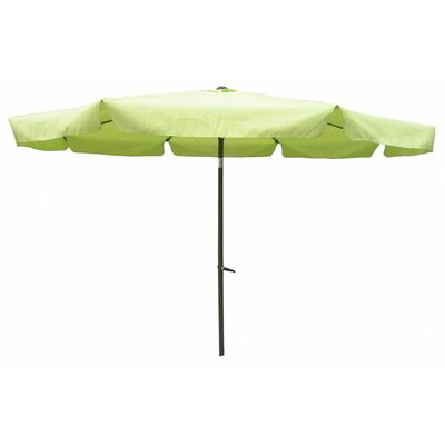 10' Hartland Drape Umbrella Fabric: Lime Green