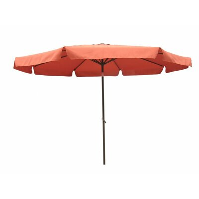 10 St. Kitts Drape Umbrella Fabric: Terra Cotta