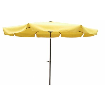 10 St. Kitts Drape Umbrella Fabric: Yellow