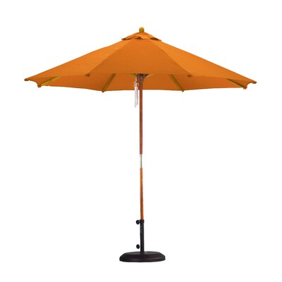 9 Market Umbrella Fabric: Polyester Tuscan