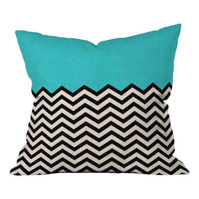 Bianca Green Indoor/Outdoor Throw Pillow Color: Follow The Sky, Size: 20 H x 20 W