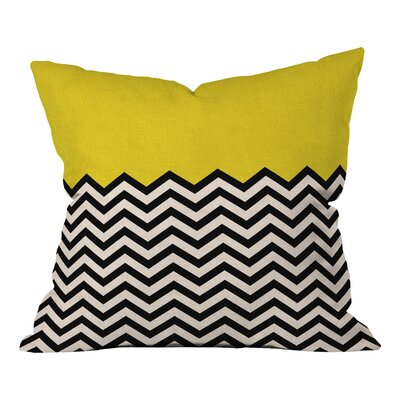Bianca Green Indoor/Outdoor Throw Pillow Size: 18 H x 18 W, Color: Follow The Sun