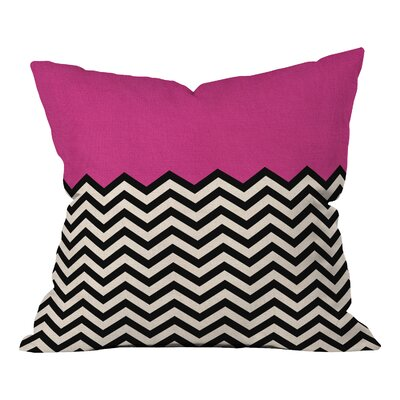 Bianca Green Indoor/Outdoor Throw Pillow Color: Follow Your Heart, Size: 20 H x 20 W