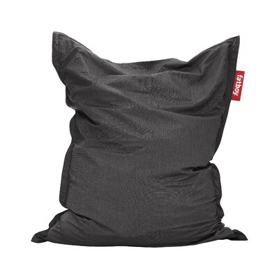 Original Outdoor Bean Bag Lounger Color: Charcoal