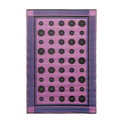 Dots Kitchen Mat Color: Berry