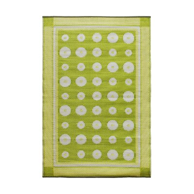 Dots Kitchen Mat Color: Plantain