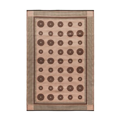 Dots Kitchen Mat Color: Spice