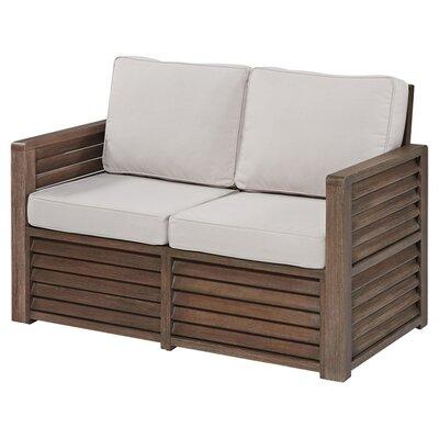 Image of Caroline Loveseat with Cushions
