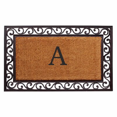 Personalized Scrolling Doormat