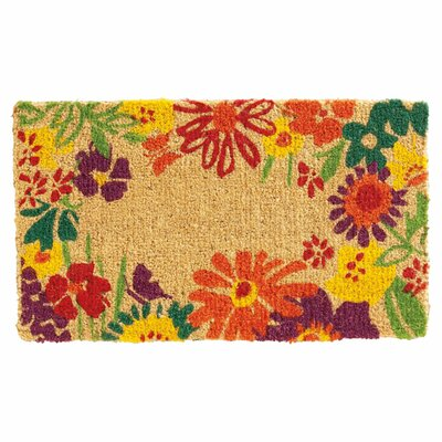 Wildflowers Doormat