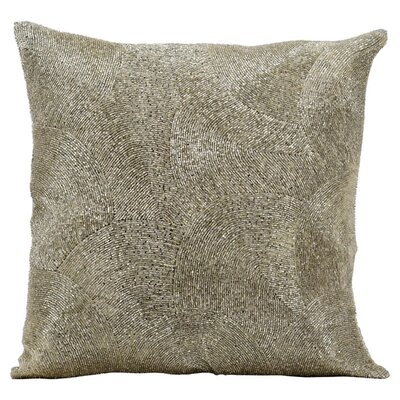 Marites Throw Pillow Color: Silver
