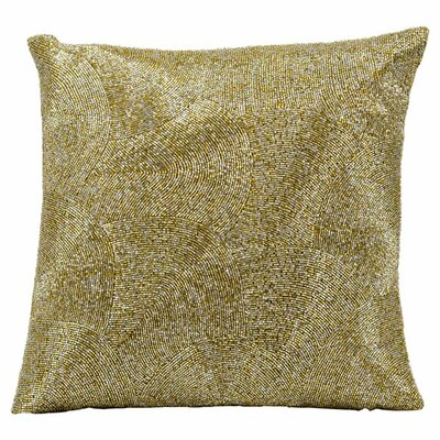 Tiffany Throw Pillow Color: Silver / Gold