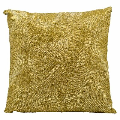 Tiffany Throw Pillow Color: Gold