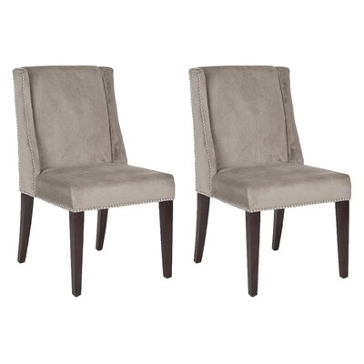 Humphry Side Chair Upholstery: Mushroom Taupe