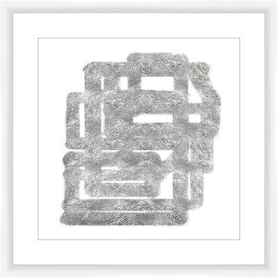'Silver Streak' Framed Print 1-20948B
