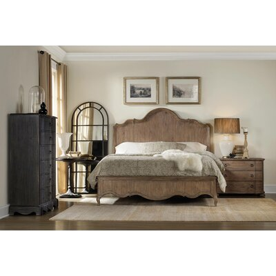 Constance King Panel Bed