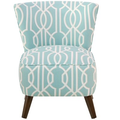 Crown Slipper Chair Upholstery: Deco Spa