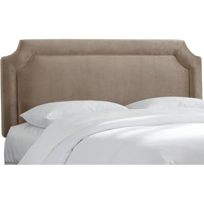 Gresham Upholstered Panel Headboard Size: Queen
