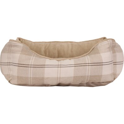 Corded Rectangular Bumper Avery Dog Bed Color: Wheat