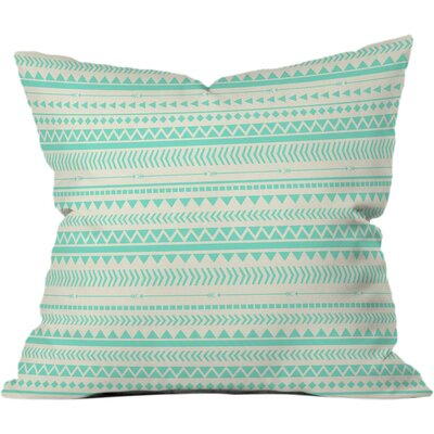 Tribal Outdoor Throw Pillow Size: 18 H x 18 W