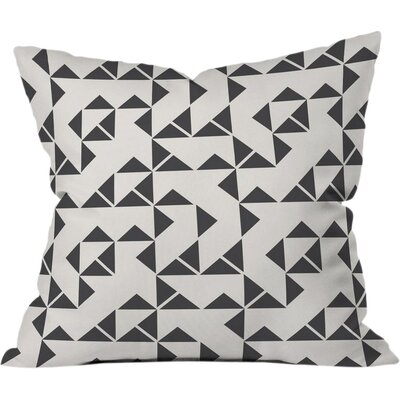Pinwheels Outdoor Throw Pillow Size: 18 H x 18 W