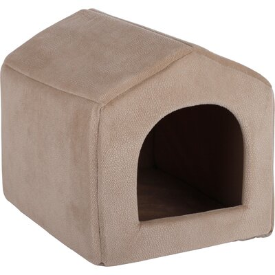 2-in-1 Pet House Sofa Ilan Dome Size: Small (13 W x 15 D x 13 H)