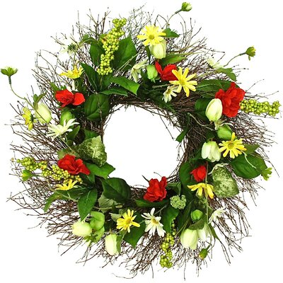 Romantic Garden 22 Wreath
