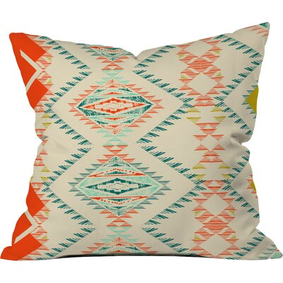 Marker Southwest Outdoor Throw Pillow Size: 26 H x 26 W