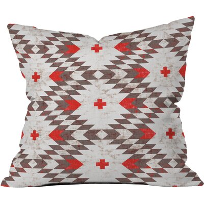 Native Rustic Throw Pillow Size: 16 x 16