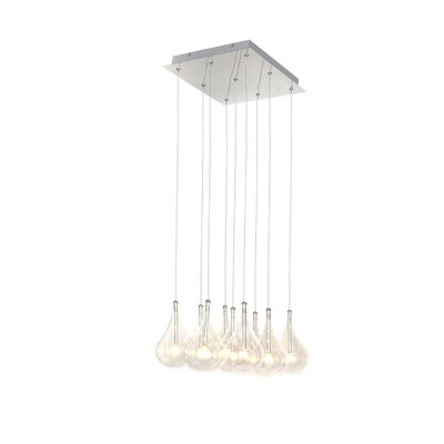 Neal 9-Light Cascade Pendant
