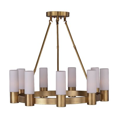 Roche 9-Light Shaded Chandelier
