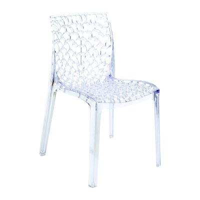 Gruvyer Side Chair (Set of 2) Finish: Transparent