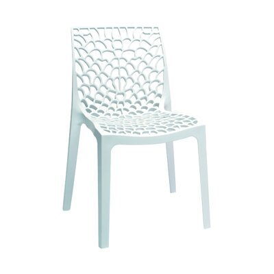 Gruvyer Side Chair (Set of 2) Finish: White