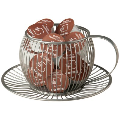 Wire Cup & Saucer K-Cup Pod Holder KCP13015