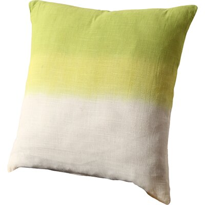 Anchal Addison Cotton Throw Pillow Size: 20 x 20, Color: Green