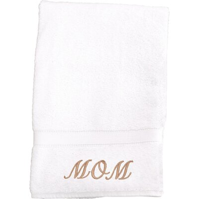 Mom Embroidered Hand Towel