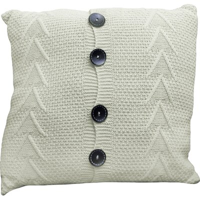 Finch Throw Pillow Color: Milk