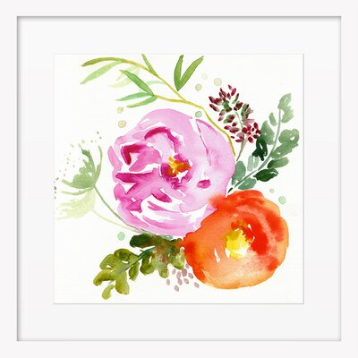 In Bloom Framed Giclee Print, Artfully Walls